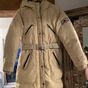 Authentic Seventy Sergio Tegon Belted Down Coat